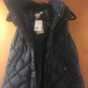 H&M puffer vest size 14